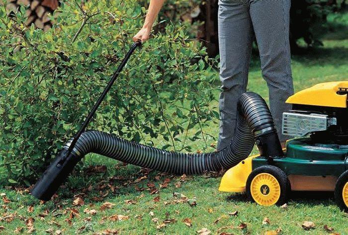 виды садовых пылесосов