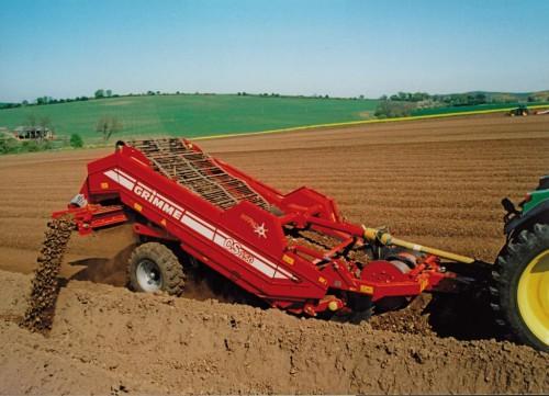 Сепарация почвы под картофель