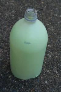 Красим бутылку